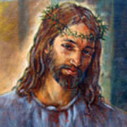 Christ With Thorns Art Print