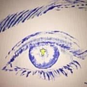 Christian Eye Art Print