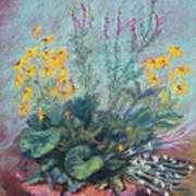 Christina's Garden Art Print