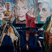 Christine Anderson Concert Fantasy Art Print
