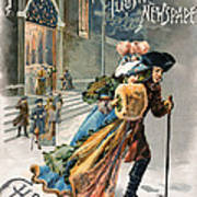 Christmas, 1890 Art Print