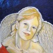 Christmas Angel   Finished Art Print