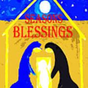 Christmas Blessings 5 Art Print
