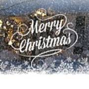 Christmas Blizzard Art Print