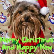 Christmas Card 1 Art Print
