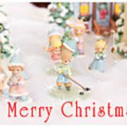 Christmas Card 5 Art Print