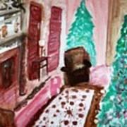 Christmas Cheer Art Print by Stanley Morganstein