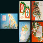 Christmas College 2 Art Print