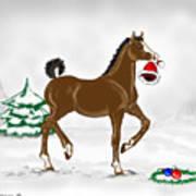 Christmas Colt Art Print