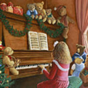 Christmas Concert Art Print