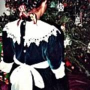 Christmas Dress Art Print