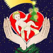 Christmas Eve- Nativity Art Print