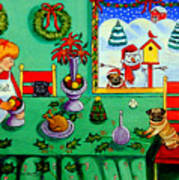 Christmas Harmony Print by Lyn Cook