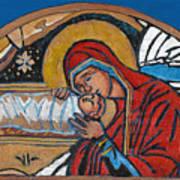 Christmas Icon 1 Art Print