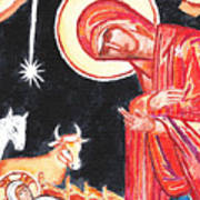 Christmas Icon 2 Art Print