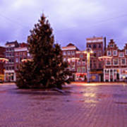 Christmas In Amsterdam The Netherlands Art Print