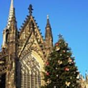 Christmas In Cologne Art Print