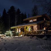 Christmas In Finland Art Print