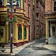 Christmas In Jim Thorpe Art Print