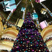 Christmas In Paris 2010 - #1 Art Print