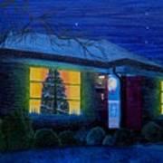 The Image Of Christmas Past Art Print