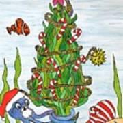 Christmas Of The Sea Tree Art Print