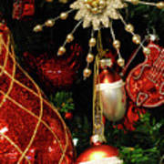 Christmas Ornaments 1 Art Print