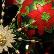 Christmas Ornaments 2 Art Print
