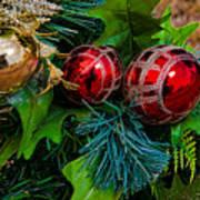 Christmas Ornaments Art Print