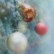 Christmas - Ornaments Art Print