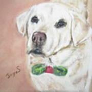 Christmas Regan Art Print