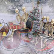 Christmas Spirits Heading To Topsail Island Nc Art Print