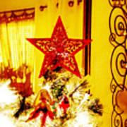 Christmas Star Art Print