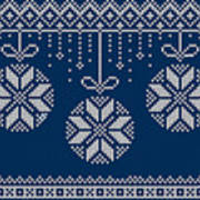 Christmas Sweater Art Print