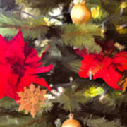 Christmas Tree 6 Art Print