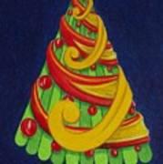 Christmas Tree No. Three Art Print