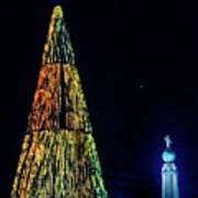 Christmas Tree San Salvador Art Print