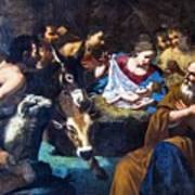Christmas With The Shepherds Art Print