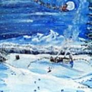 Christmas Wonderland Art Print
