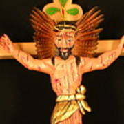 Christo Crucificado Art Print
