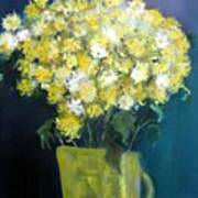 Chrysanthemums Art Print