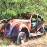 Chrysler Airflow Painterly Expression Art Print