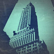 Chrysler Building  Art Print by Naxart Studio