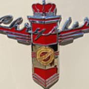 Chrysler Hood Logo Art Print