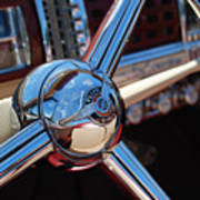 Chrysler Town And Country Steering Wheel Art Print