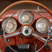 Chrysler Turbine Cockpit View Art Print