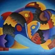 Chujllas Mayu Apu Art Print by Fernando  Ocampo Sandy