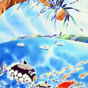 Churaumi Paradise Art Print