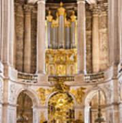 Church Altar Inside Palace Of Versailles Art Print