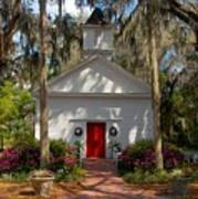 Church At Micanopy Art Print